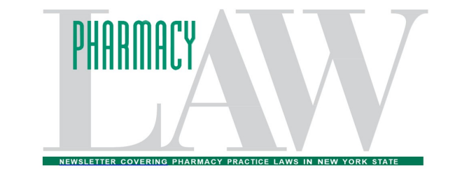 Pharmacy Law Newsletter.